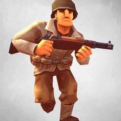 دانلود بازی اندروید Mighty Army World War 2 + مود