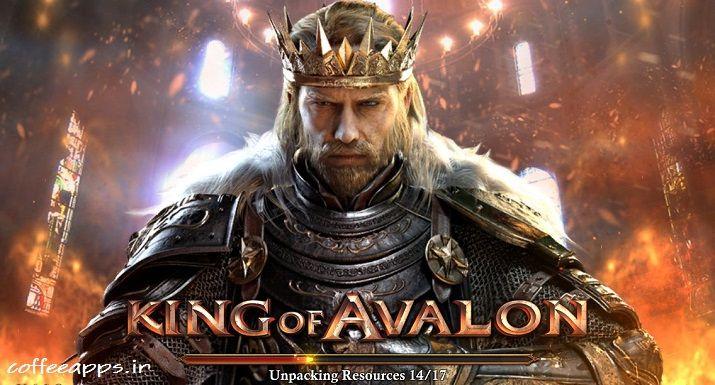 King Of Avalon مود شده