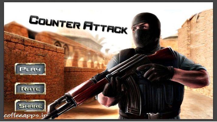 Counter Attack مود شده
