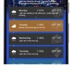 دانلود برنامه اندروید اپلیکیشن هواشناسی Now Weather