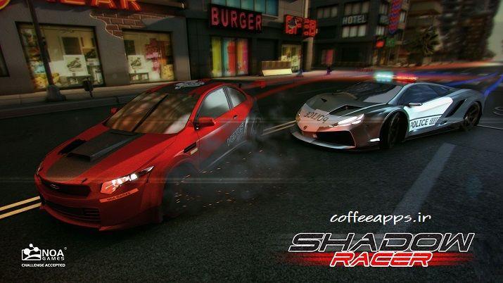Shadow Racer برای اندروید