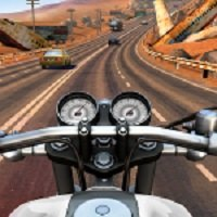 دانلود بازی اندروید موتور سواری در بزرگراه Moto Rider GO