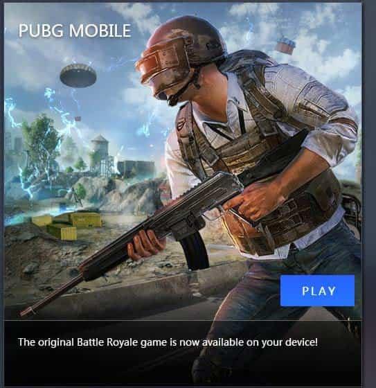 بازی پابجی موبایل برای کامپیوتر