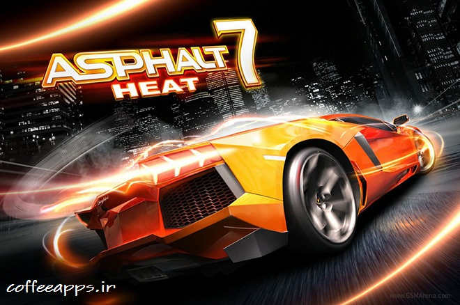 دانلود Asphalt 7 Heat