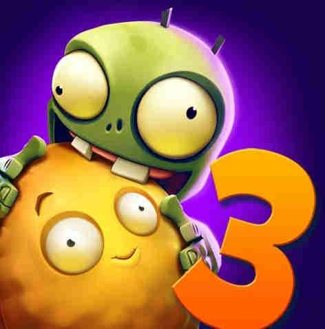 دانلود بازی اندروید زامبی ها و گیاهان Plants vs Zombies 3