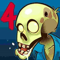 دانلود بازی اندروید زامبی های احمق Stupid Zombies 4