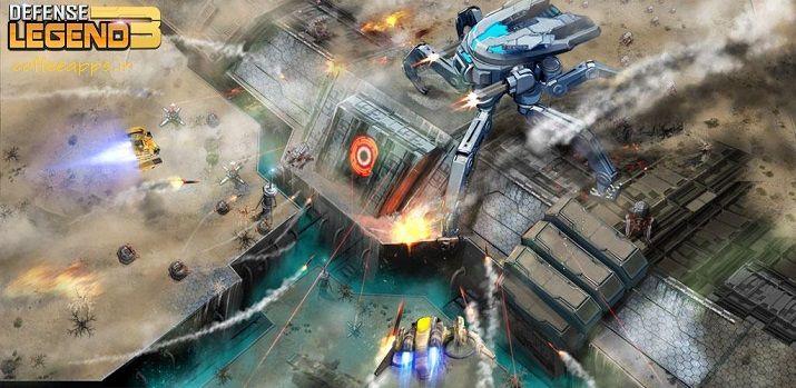 Defense Legend 3 Future War برای اندروید