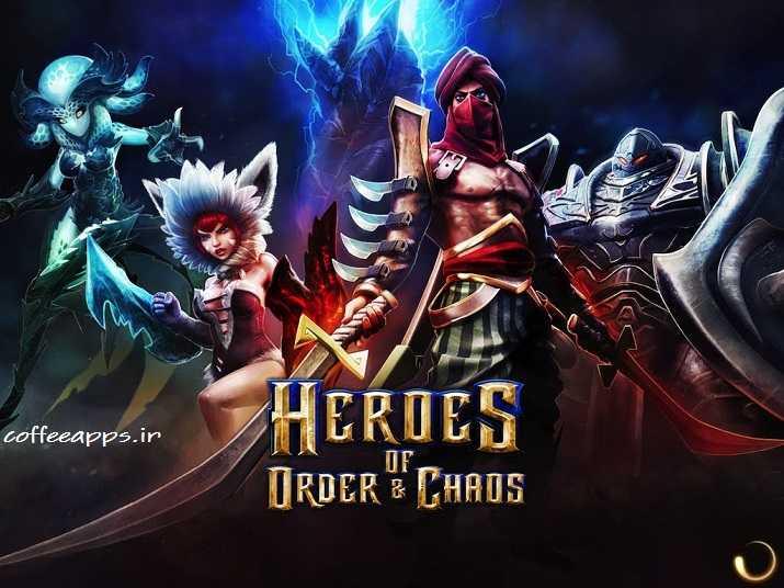 بازی Heroes of Order & Chaos