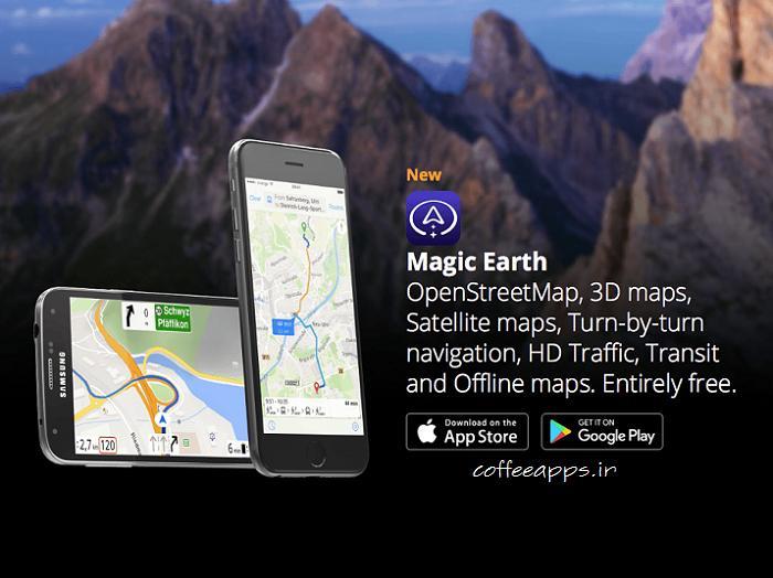 دانلود Magic Earth Navigation & Maps
