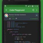 دانلود برنامه اندروید یادگیری آسان کدنویسی SoloLearn: Learn to Code for Free