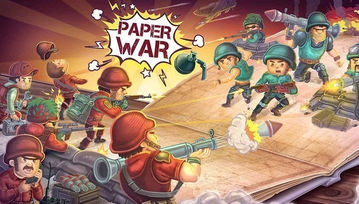 بازی ایرانی جنگ کاغذی هک شده
