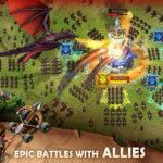 دانلود بازی اندروید شعله نبرد Blaze of Battle