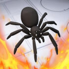دانلود بازی اندروید نابود کردن عنکبوت ها Kill It With Fire