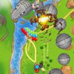 دانلود بازی اندروید بالون ها و میمون قهرمان Bloons Supermonkey