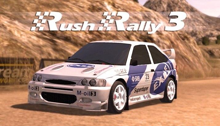 Rush Rally 3 اندروید مود شده