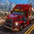 دانلود بازی اندروید شبیه ساز تریلی Truck Simulator USA